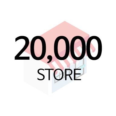 20,000 STORE